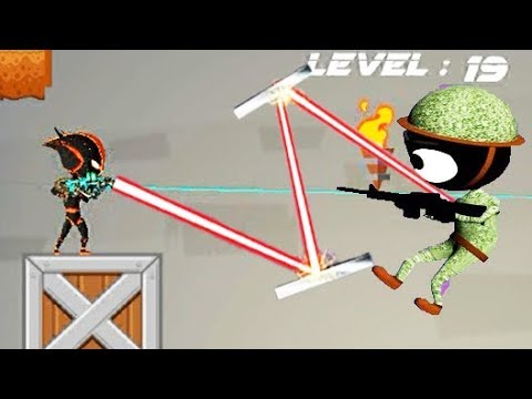 STICKMAN SHOOTER ELITE STRIKEFORCE New Update - Walkthrough Gameplay Part 2 (iOS Android)