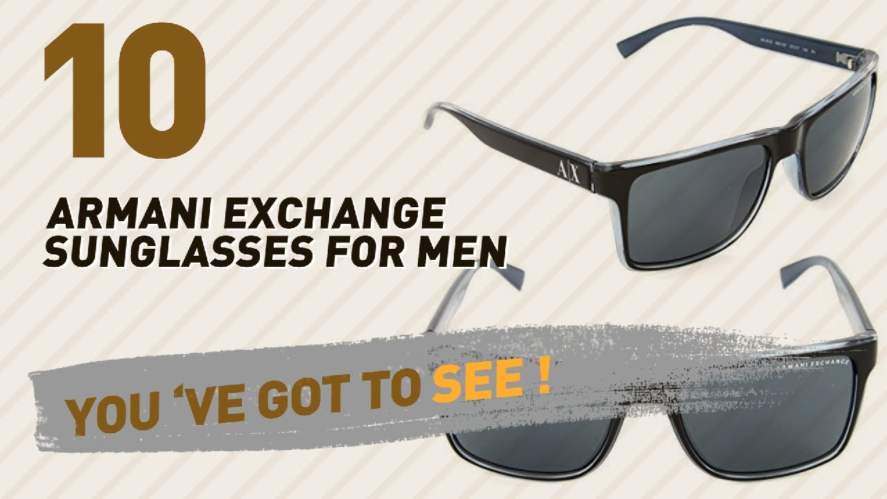 ec52312706a Armani Exchange Sunglasses For Men    Hot Trending Oct 2017 - YouTube