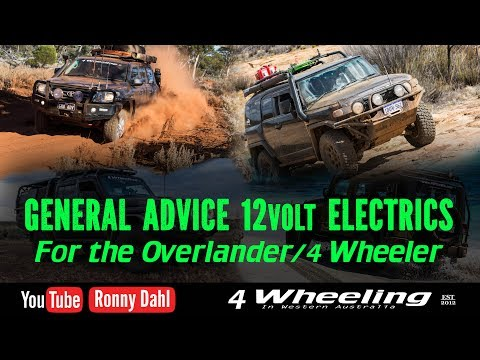 Overland 4 Wheeler 12volt Electrical Advice
