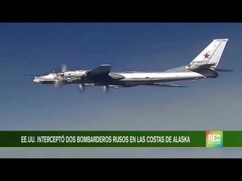 EE.UU. interceptó dos bombarderos rusos en las costas de Alaska
