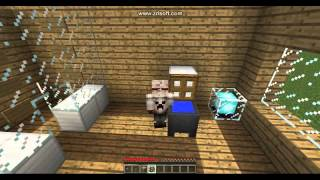 por dentro minecraft casa mi