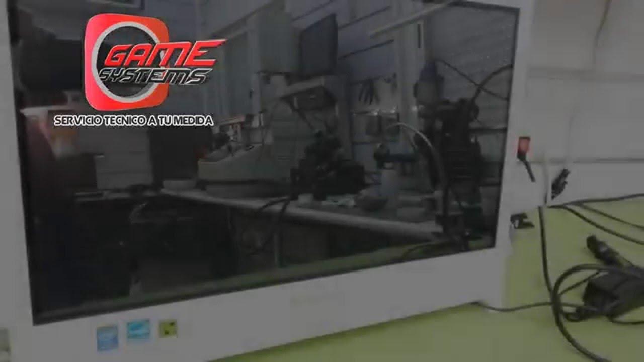 Reparacion Lenovo c260 Enciende Sin Video - YouTube