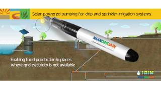New Irrigation applications: Rice, Sugarcane, Banana Nurseries, Solar tech, Palm trees, Greenhouses