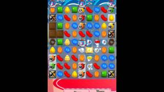 Candy Crush Saga Level 483 iPhone No Boosts