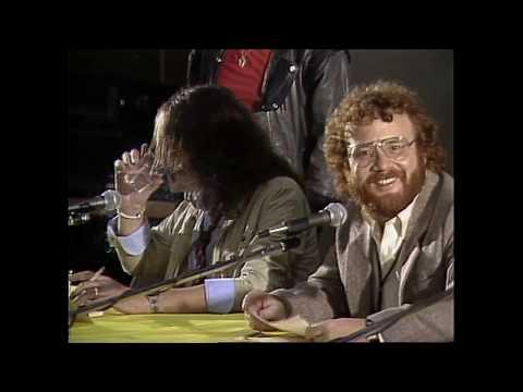 Deep Purple Reunion Press Conference announcement 1984