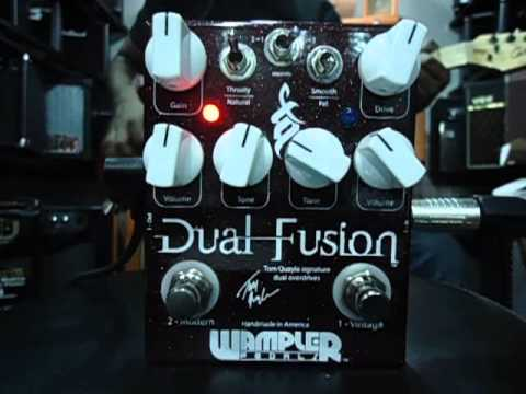 wampler dual fusion demo at bhargavas music youtube. Black Bedroom Furniture Sets. Home Design Ideas