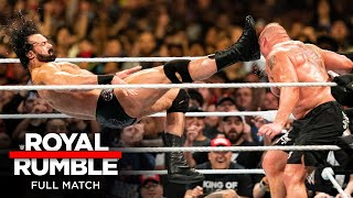 FULL MATCH - 2020 Men's Royal Rumble Match: Royal Rumble 2020