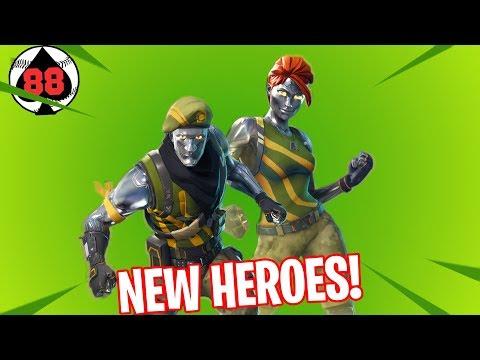 Fortnite: Battle Royale and Save the World LIVE Gameplay! New Diecast Jonesy & Ramirez, Llama resour