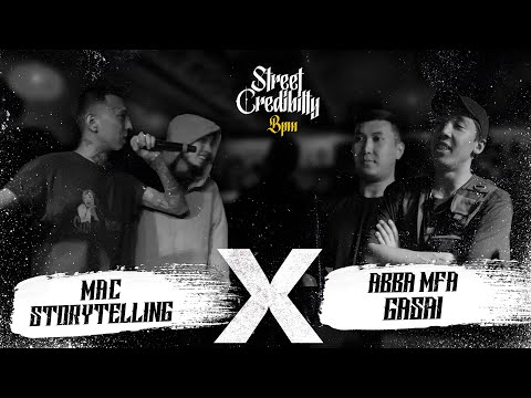 STREET CRED BPM - STORYTELLING & MAK х ABBA MFA & GASAI