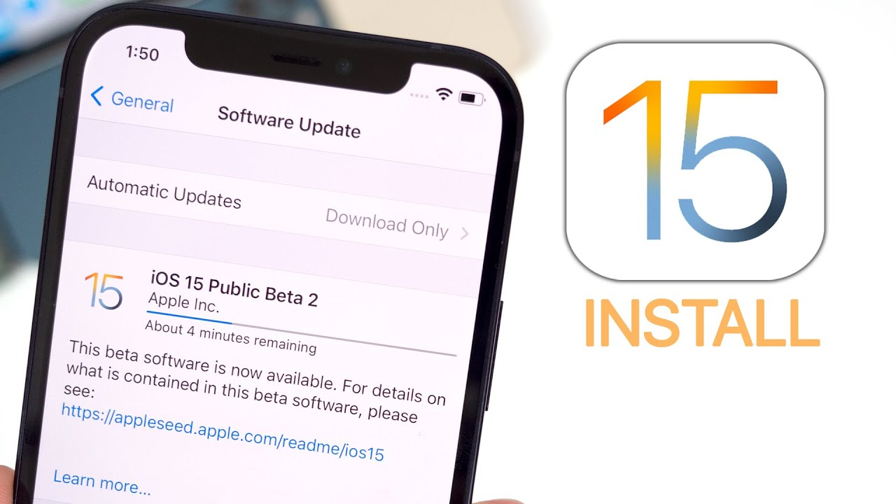 When Can I Download iOS 15 on My iPhone? | Apple iOS 15 ...