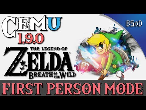 Zelda Breath of the Wild | First Person Mode