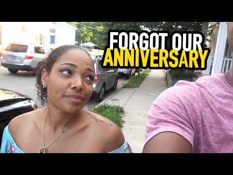 FORGOT OUR ANNIVERSARY!!