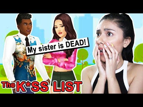 TELLING MY BEST FRIEND THE TRUTH! - THE KISS LIST ( Playing Episode