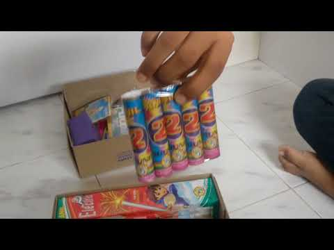 ANIL'S SILVER PACK FIREWORKS | FATAKE | CRACKERS | 2017