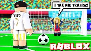 ZOSTALIŚMY PIŁKARZAMI W ROBLOX (Roblox Super Striker) - Vito i Bella