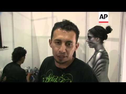 ARTISTS GATHER IN BOGOTA FOR BODY PAINT FESTIVAL