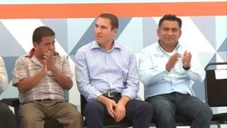 Inaugura RMV adoquinamiento de calle en Altepexi
