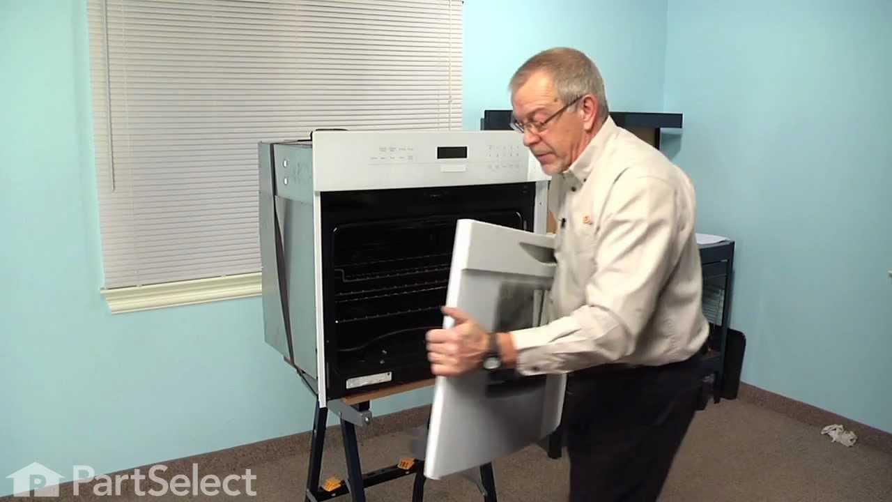 Range Stove Oven Repair Replacing The Door Hinge