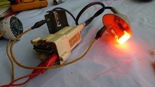 Probador de Flyback con lampara ahorrado...