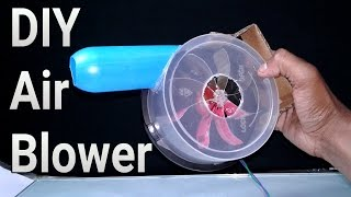 How to make a 12Volt Air Blower from CD Case- Very Easy