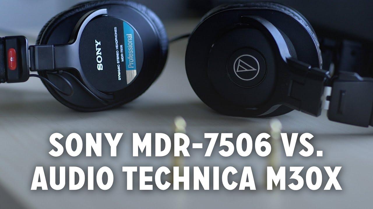 Best Budget Monitor Headphones Audio Technica M30x Vs Sony Mdr Sennheiser Hd 7 Dj Hitam 7506