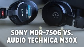 Video Best Budget Monitor Headphones? (Audio Technica M30X vs. Sony MDR-7506) download MP3, 3GP, MP4, WEBM, AVI, FLV Mei 2018