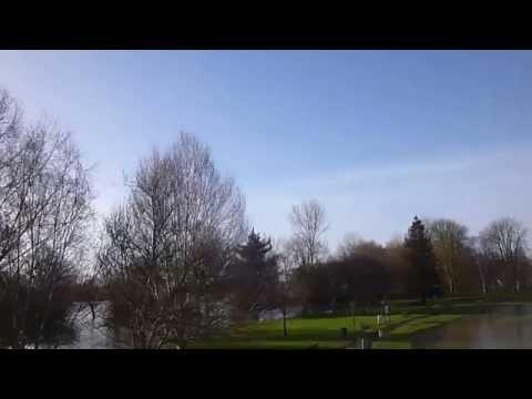 River Thames Flooding Abingdon Bridge  Feb 2014