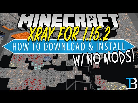 How To Get XRay In Minecraft 1.15.2 (PC)