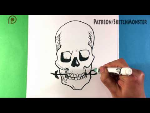 Download How To Draw A Skull And Rose Tattoo Design Mp3 3gp Mp4