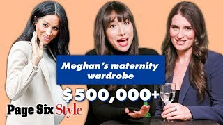 Meghan Markle's Most & Least Expensive Maternity Looks | Royal Roundtable | Page Six Style