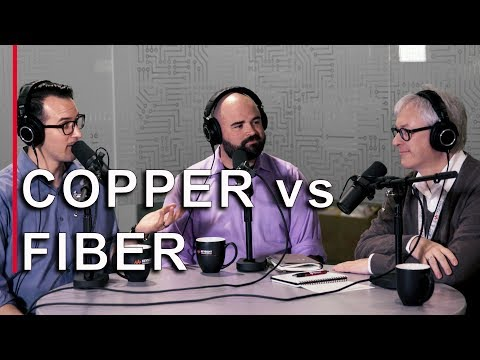 Copper vs. Fiber Optic Cable and Optical Communication Techniques - EEs Talk Tech #11