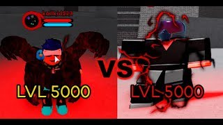 MAX LVL OVERHAUL VS MAX LVL ALL FOR ONE!!! [boku no roblox remasterisé