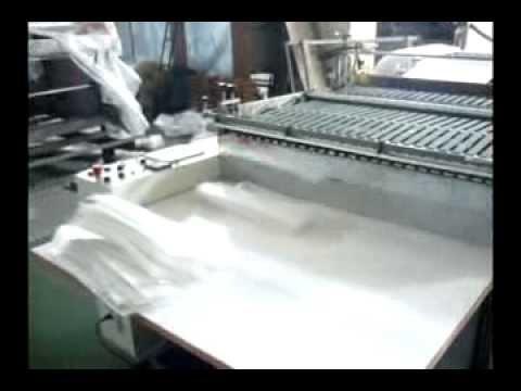 Balonlu Naylon TORBA YAPMA Makinesi Makinası