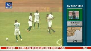 Sports Tonight: Super Eagles Media Officer, Toyin Ibitoye Gives Update From The Camp