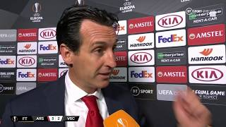 Another good evening for Arsenal! Unai Emery reacts to last-gasp Europa League win