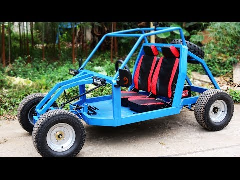 Build a 1000W Electric Gokart at Home - Electric car - Tutorial - Part 1
