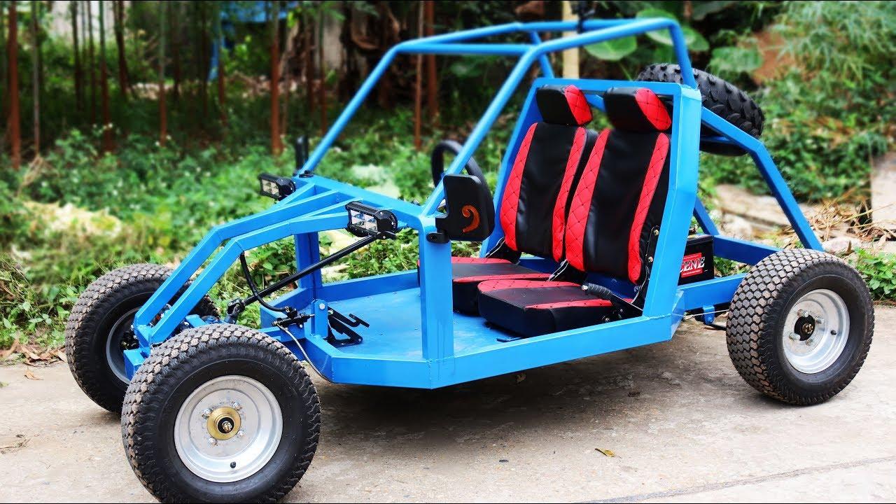 Правим електрически автомобил 1000W! Вижте как става това стъпка по стъпка!