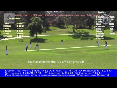 District Tournament Yr 9 Boys: Eastern White v Cavaliers