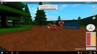 trying out obs on roblox