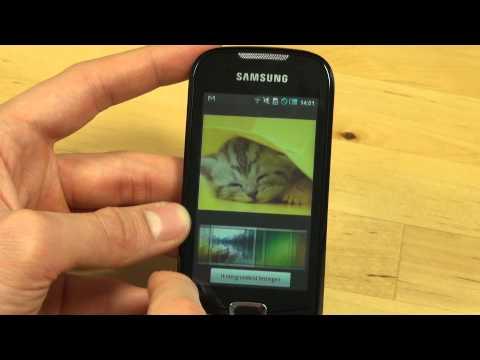Samsung I5800 Galaxy 3 Test Bedienung