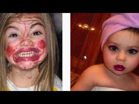 Kids and Babies Make up Fails #3