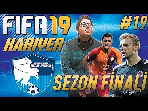 FIFA 19 KARİYER#19:SEZON FİNALİ !!! LİG BİTTİ !!! ⚽