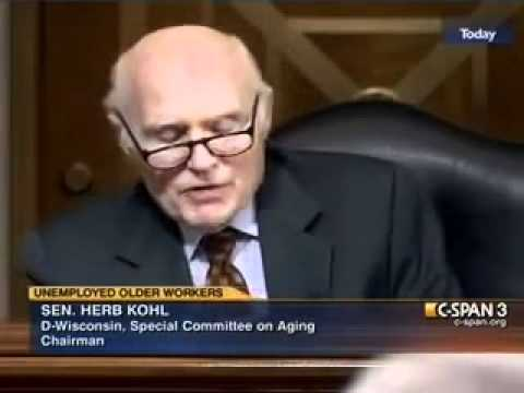 Sen Herb Kohl speaks about Platform to Employment at the Senate Special Committee on Aging