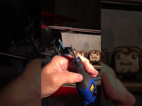 Aircraft spark plug cleaner