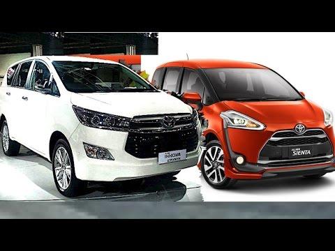 2018 toyota new models. brilliant models all new toyota sienta vs innova crysta 2017 2018 model  youtube in toyota models r