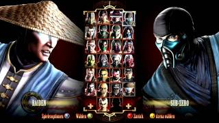 Mortal Kombat 9 All Fatalities Finishing Moves