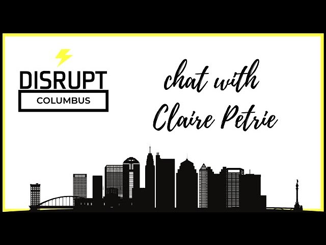 DisruptHRCbus Chat with Claire Petrie
