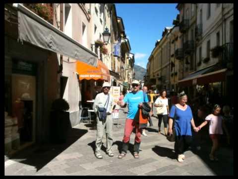 Visita a la ciudad italiana de Aosta