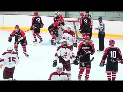 Arlington High School Boys Varsity Hockey Vs Winchester - January 13, 2018