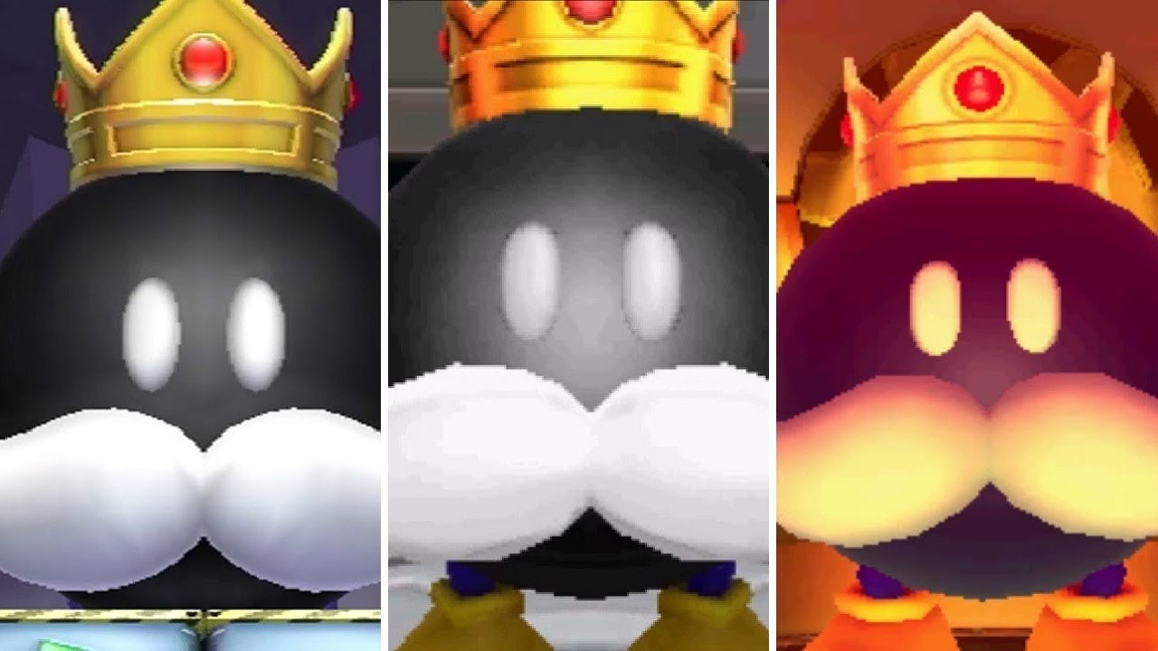 All King Bob-omb Bosses in Mario Party Games